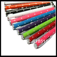 High quality 500pcs/lot stylus pen capacitive for mobile phone touch pen for iphone 4S IPAD3