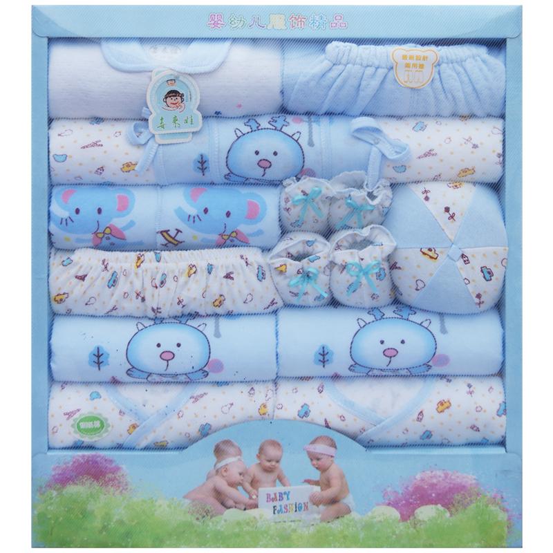 Baby products 2013 thickness mix match 100% cotton baby gift set box tote(China (Mainland))