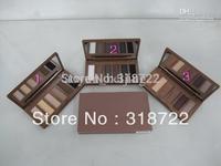 2013 new hot NAKE BASICS 6 color EYESHADOW/EYE SHADOW palette (3 pcs) 3 color!