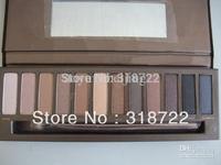 free shipping new hot NAKE 12 color eyeshadow/eye shadow palette (1 pcs/lot)