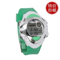 100% new fashion free shipping Transparent multifunction casual sports electronic watch 589
