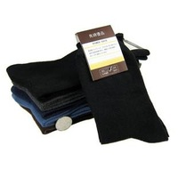Men's socks spring and autumn socks plus size 100% cotton socks