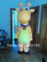 Sika Deer Mascot Costume Cervus Nippon Spotted Deer Adult Fancy Dress Cartoon Outfit Suit Free Shipping