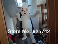 Not Cheap Material! Cartoon Costumes walking dolls clothes prop performance wear little sheep mascot costume