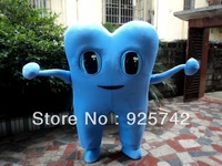 Not Cheap Material! New Arrival High Quality EVA Material Dexule Tooth Mascot Costume With Fan & Helmet