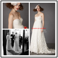 Fashion 2013 new arrival a-line ruched sweetheart chiffon wedding dresses free shipping j200
