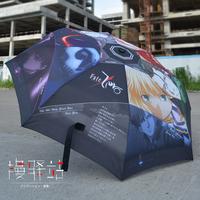 Free shipping Second element pain umbrella FATE / ZERO SABER Cartoon umbrella Umbrella Ghibli umbrella