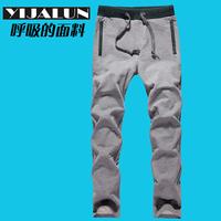 2013 spring men's clothing trousers male sweatshirt pants male casual pants straight pants harem pants