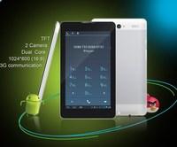 3G calling dual core tablet PC +dual camera+ultra slim+7 inch