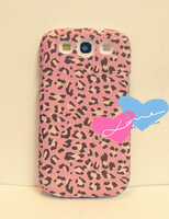 The new arrival, cartoon frosted leopard grain for samsung i9300 S3 cases following