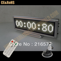New 12V White LED Message Sign Moving Scrolling Display Board for Car&shop windows