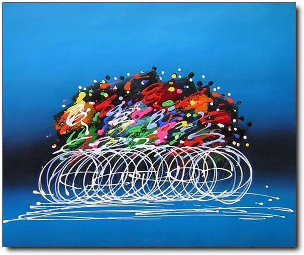 Online kopen wholesale fiets schilderen uit china fiets schilderen groothandel - Idee deco gang schilderij ...
