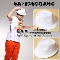 2013 linen jazz hat white fashion summer star fedoras general