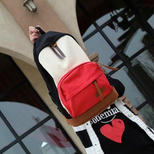 Casual backpack canvas backpack school bag travel bag