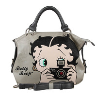 Betty boop BETTY women's handbag cartoon handbag cross-body bag multi-purpose a3098-39 dark gray