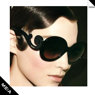 Vintage circle b-43 sunglasses female fashion star style big box sun glasses sunglasses