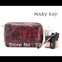 2013 New ladies fashion purple stone pattern patent leather cosmetic bag / Storage bag