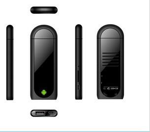 Mini Dual Core MK809 II Android 4.1 PC Google TV Box With 1.6GHz RAM 1GB+ROM 8GB& free shipping