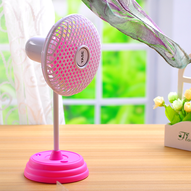 Free Shipping DIY Mini Rechargable Floor Fan Desktop Fan Electric Fan Table Fan(China (Mainland))