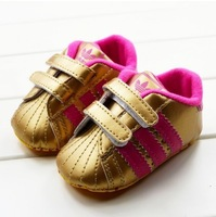 New arrive Velcro baby first walked shoes infants soft bottom toddlers shoes size 11 12 13cm.