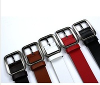 Free Shipping   Classic japanese word buckle strap pin buckle casual strap male strap genuine leather belt cowhide