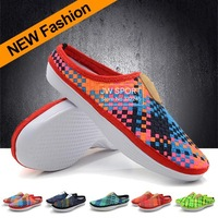 2013 New Arrival Free shipping Solarsoft Woven Mule Premium slippers summer sandals slippers Massage slippers sneaker
