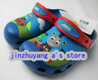 Free shipping Hot sale Little train shoes Kids Boys and girls slippers/sandals size :6C7-12C13+Hello kitty towel 1PC