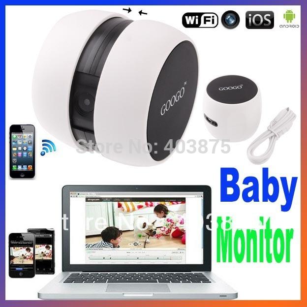 googo wifi camera no need router wireless portable baby monitor p2p webcam fo. Black Bedroom Furniture Sets. Home Design Ideas