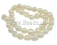 Free Shipping A 11-12mm Hole:Approx 0.8mm Length:15.7Inch Baroque Cultured Freshwater Pearl Beads Jewelry Making NEW Accessories