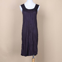 Top Modal material comfortable sexy spaghetti strap long nightgown jj1454