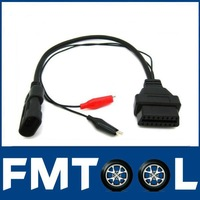 FIAT Lancia Alfa Romeo 3 Pin 3Pin Male to OBD OBD2 OBDII DLC 16 Pin 16Pin Female Car Diagnostic Tool Adapter Converter Cable