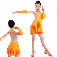 Latin service Latin dance performance wear clothing child Latin competition dance Latin dance skirt 1168