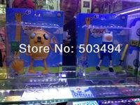 "6"" New Arrival Retail Adventure Time Finn & Jake PVC Doll * PLUMP JAKE pvc figure Toy Free Shipping"