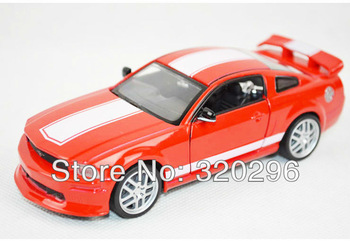1:32 Ford Mustang GT two-door car with music and light alloy model/ Pull back car model