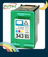 Free shipping C8766E Compatible Inkjet Cartridges for hp343 Deskjet 460 series,5740 series,5940 series,6830,6840,6940,6980