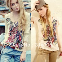 fashion ladies T-shirt  short-sleeve T-shirt