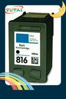 Free shipping C8816A Compatible Black Inkjet Cartridges for hp816 DeskJet 3538,3558,3658,3668,3743,3748,3848,3918