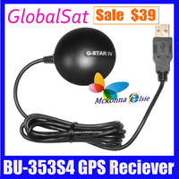 GlobalSat GPS Reciever Portable Mini USB BU-353 S4 SiRF Star IV 48 Channel For PC And Laptops Tracking Free Shipping