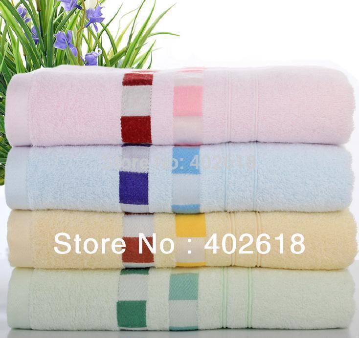 "(4PC/Lot) Bath towel,100%Bamboo fiber, Size 55""x27""(140x70cm), Luxury towel, 4 Colors, Natural & Eco-friendly(China (Mainland))"