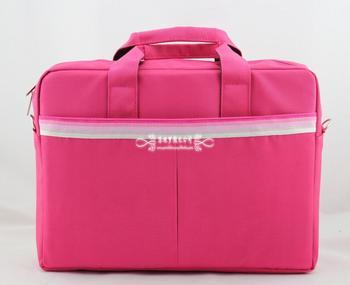 2013 Fashion fashion metal handle laptop bag male women's one shoulder laptop bag 14 15 15.6 Fashion casual computer package