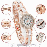 Fashion Design  Geneva 18KGP Imports Rhinestone Lady/Women/Girl Quartz Wrist Watch Fashion Xmas