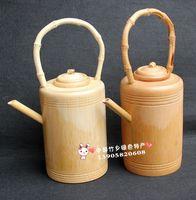 Full bamboo teapot water bottle natural eco-friendly tea set teapot