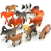 Animal dog horse cow sheep kindredship aids children toy 12