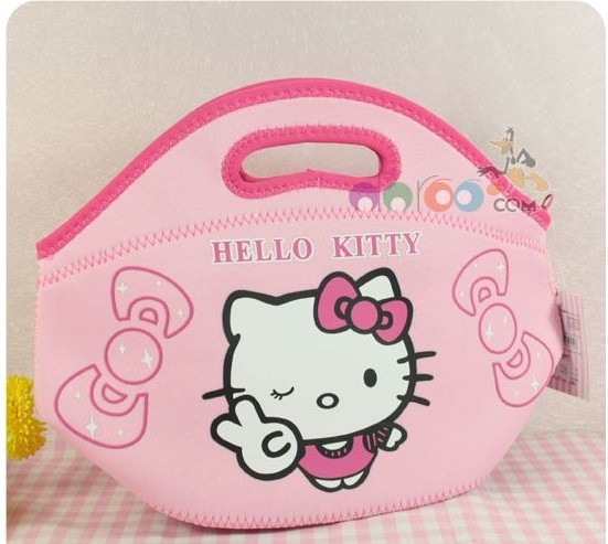 Very cute and fashion hello kitty little girl handbag,girl storage bag Hand bag ,wholesale(China (Mainland))