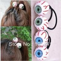 Superior-quality DIY Blood Streak Eyeball Ring hair accessory