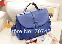 Free Shiping! Wholesale 10pcs/lot  Bags 2013 vintage messenger bag one shoulder cross-body women's handbag candy color bag