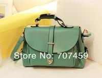 DHL Free Shiping! 20pcs /lot 2013 vintage messenger bag one shoulder cross-body women's handbag candy color bag
