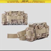 Desert Digital Camo Camoufalge Tactical Military Molle Airsoft Utility Waist Shoulder Hand Bag Pouch