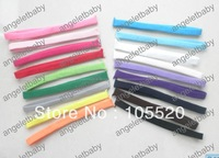 20pcs/lot baby  1cm width nylon skinny headbands hairbands  toddler 18 colors available soft  stretchy hair bands