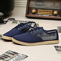 Men's breathable shoes skateboarding shoes lazy fashion trend of the single shoes sandals shoes